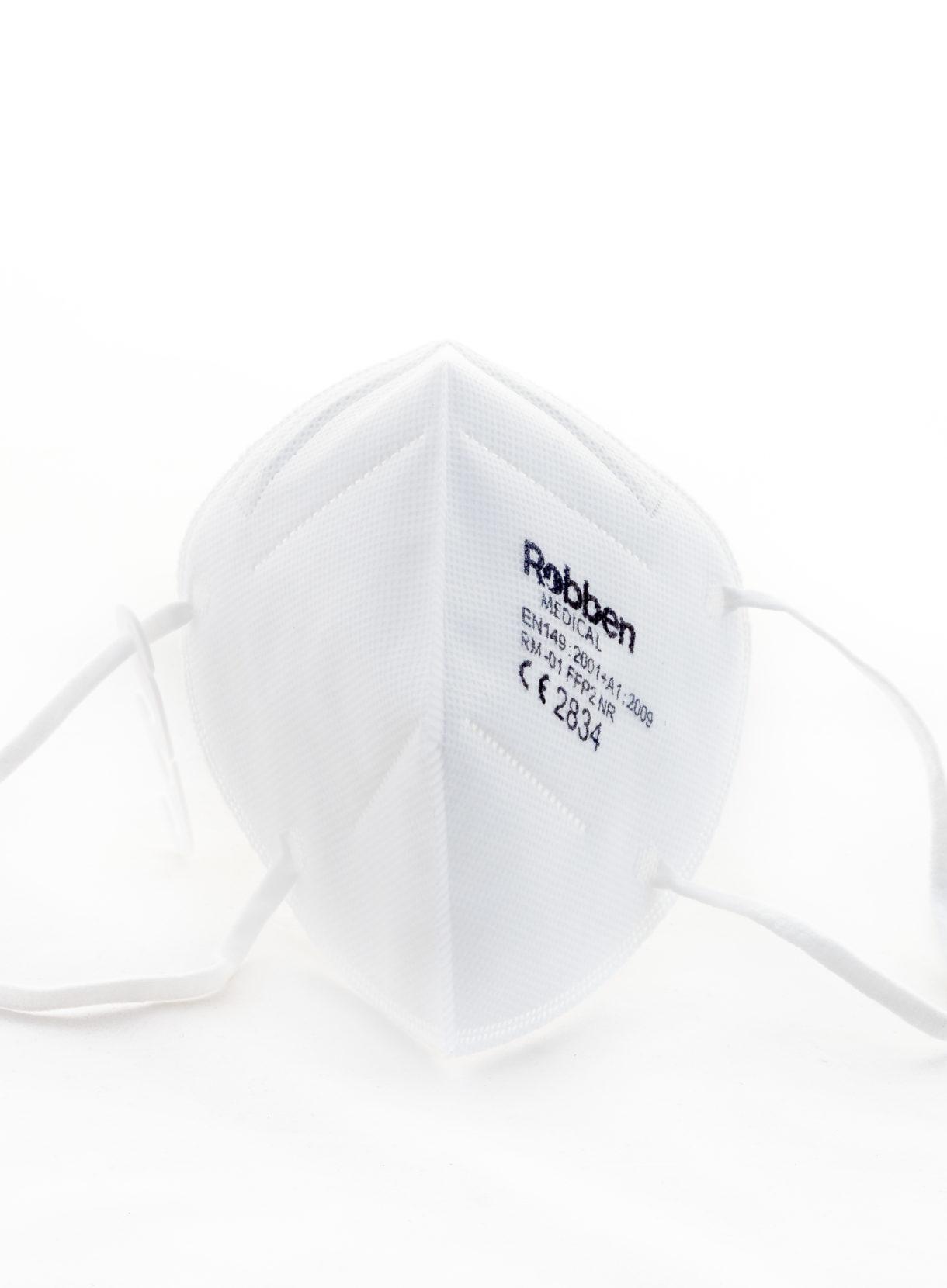 Frontansicht FFP2 Maske von Robben Medical